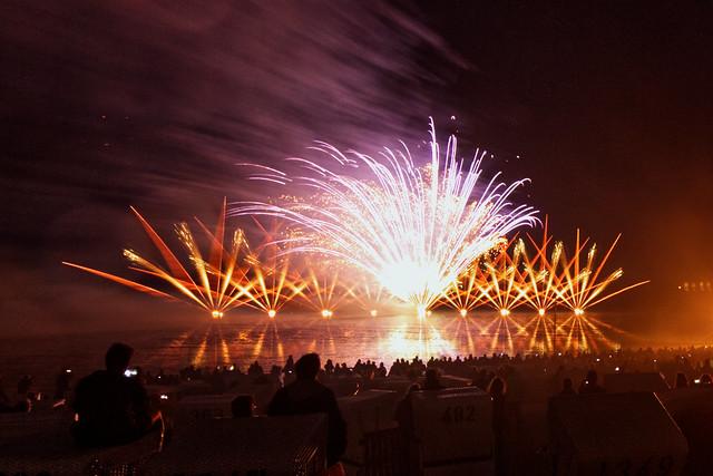 Meeresleuchten / Feuerwerk