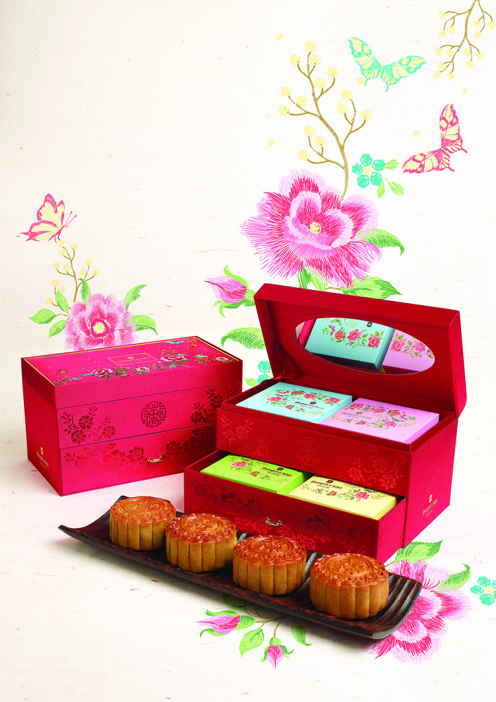 Shangri La Mooncake Treasure Box image HI RES