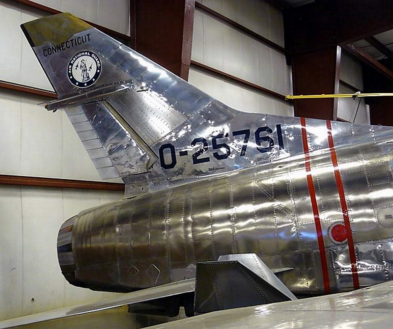 North American F-100A Super Sabre 4