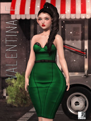 NEW! Valentina E. Jayne Dress @ Belle!