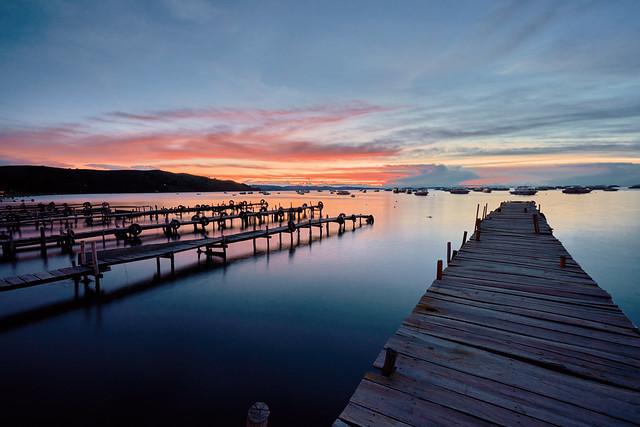 Sunset at Lake Titicaca - Copacabana, Bolivia