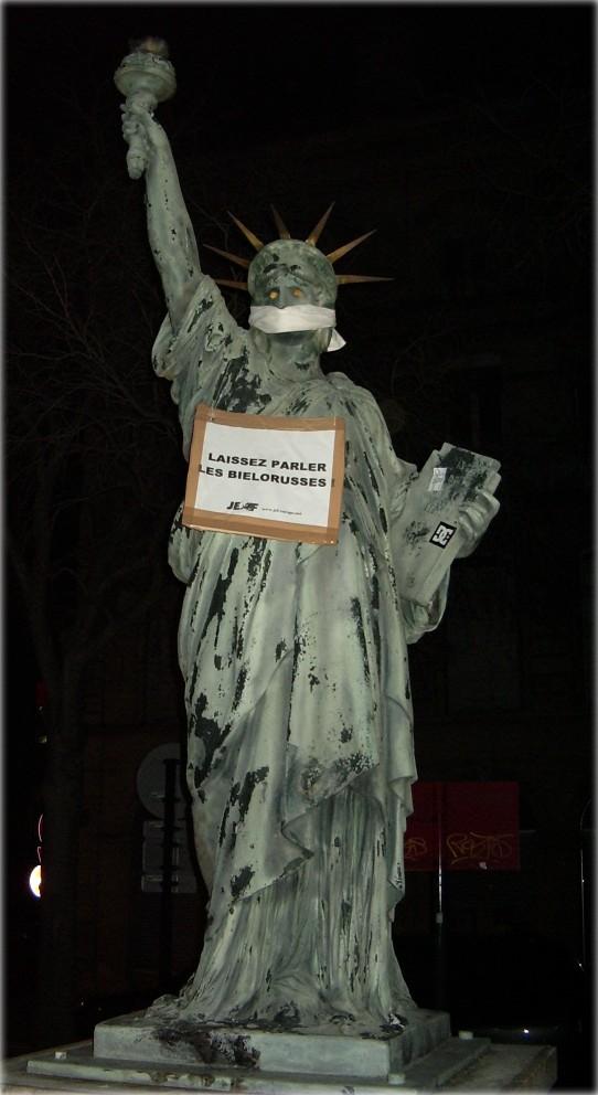 Estatua de la Libertad de Burdeos