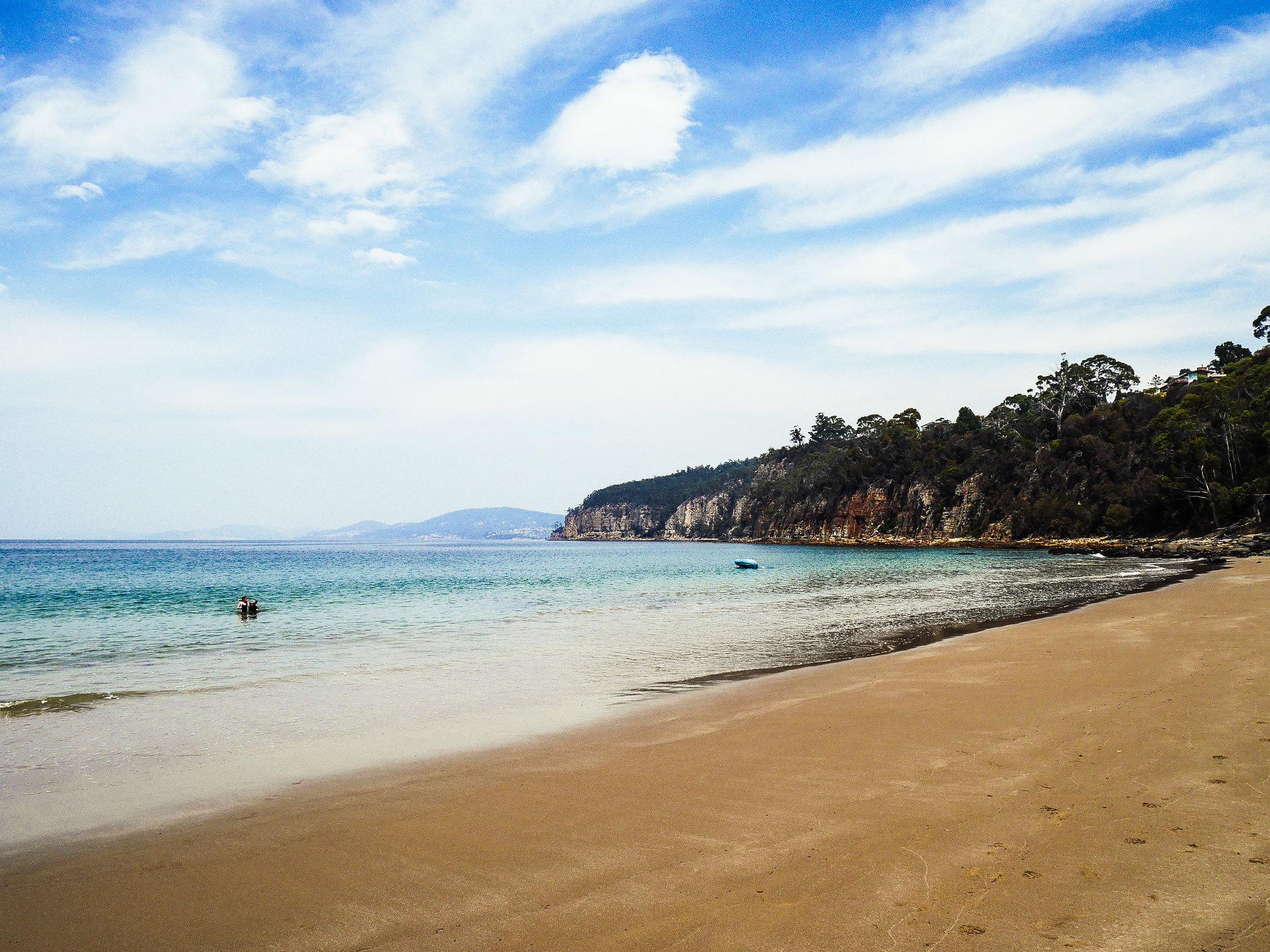 Hinsby beach, Taroona