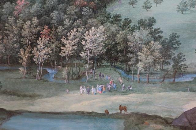 Vue du château de Mariemont (1612)