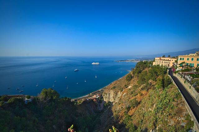 paisagem de Taormina