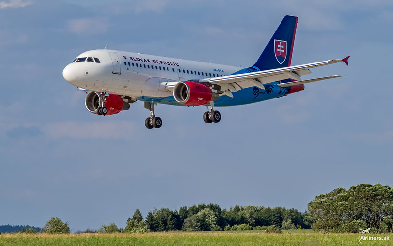 OM-BYA Slovak Government Flight Service Airbus A319-115(CJ)