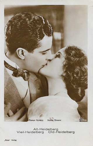 Ramon Novarro and Norma Shearer in The Student Prince