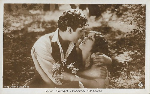 John Gilbert and Norma Shearer in He Who Gets Slapped (1924)