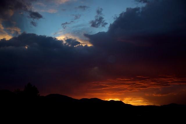 Stormy Sunset 01