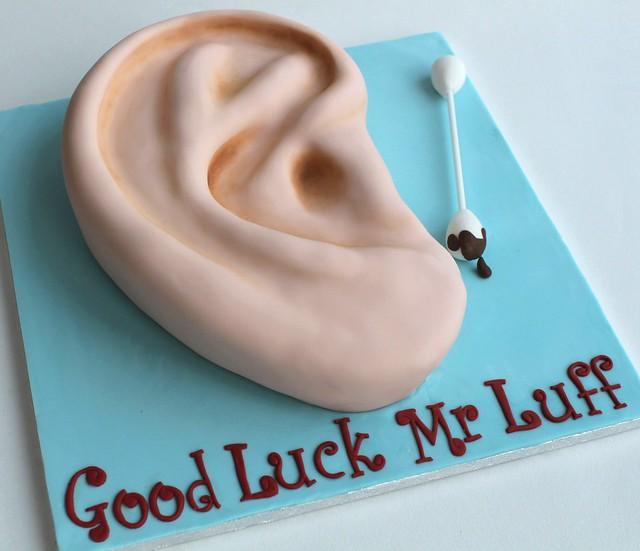 ear cake