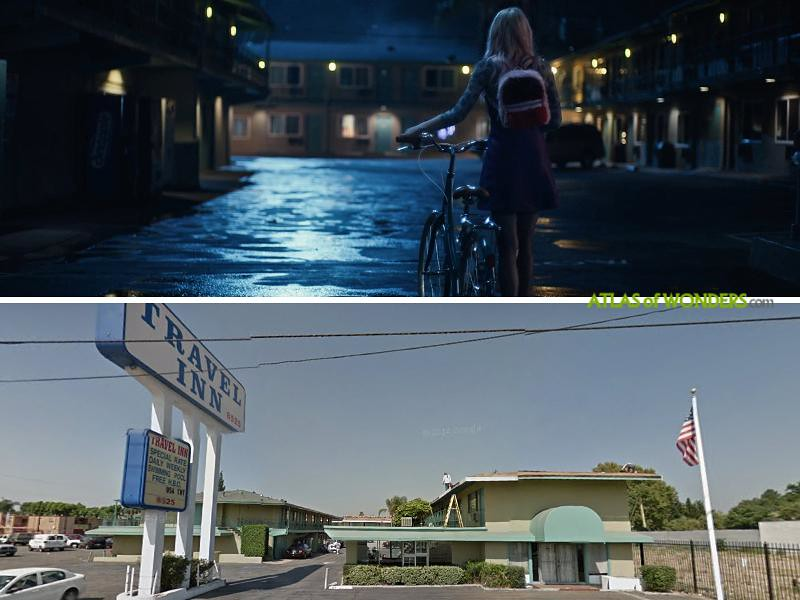 Jules motel room scene