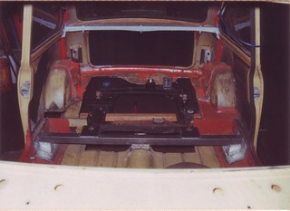 1991-12-27 First fitting of new rear subframe | by Ronski-man
