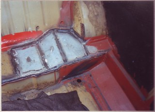 1991-09-28 Near side top of seat repaired | by Ronski-man