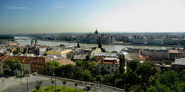 Vistas desde el Bastión de los Pescadores (Budapest)