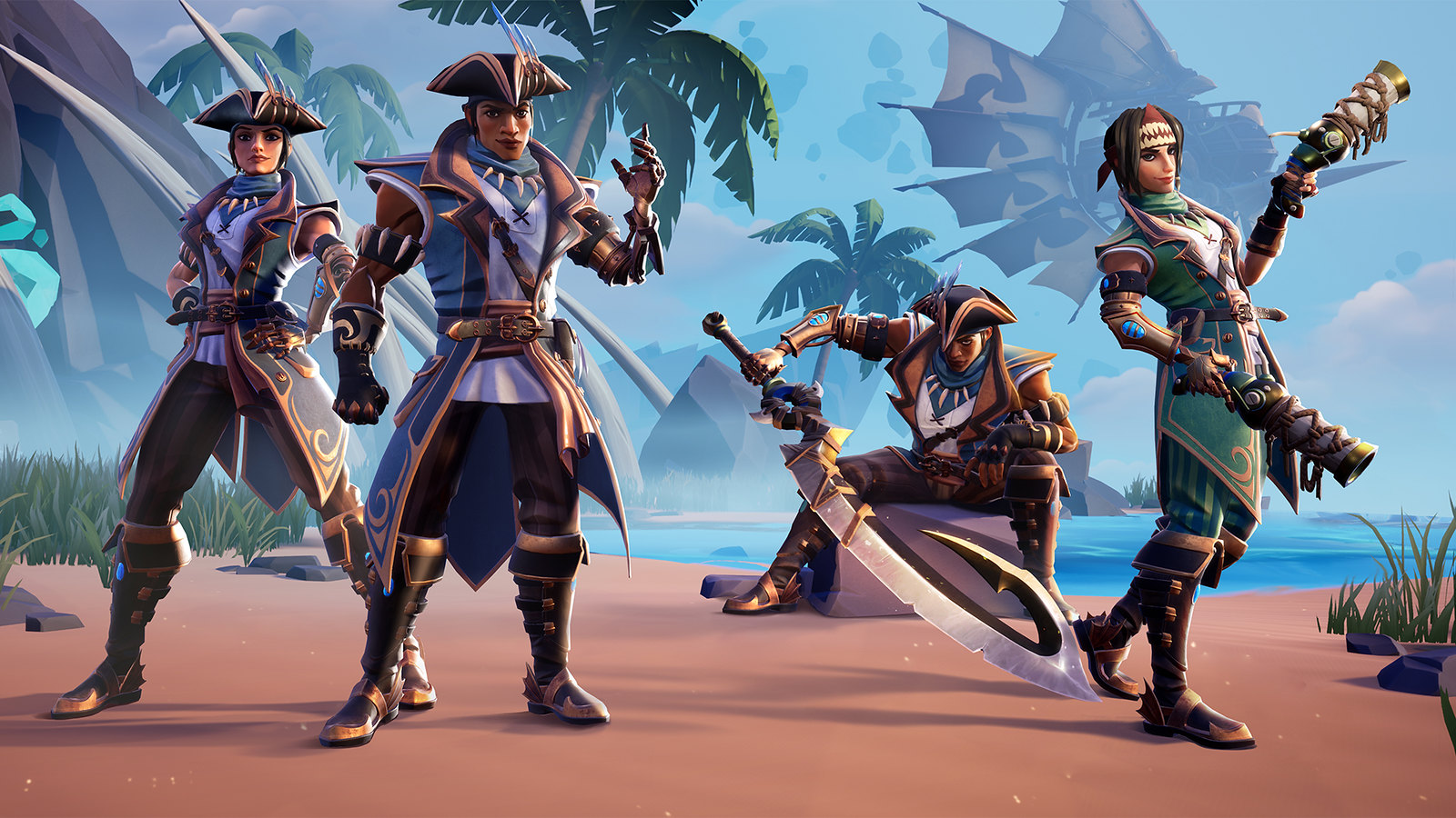 Dauntless: Fortune & Glory on PS4