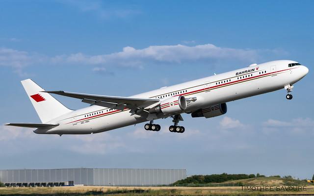 ORY | Kingdom of Bahraïn Boeing 767-400 | A9C-HMH