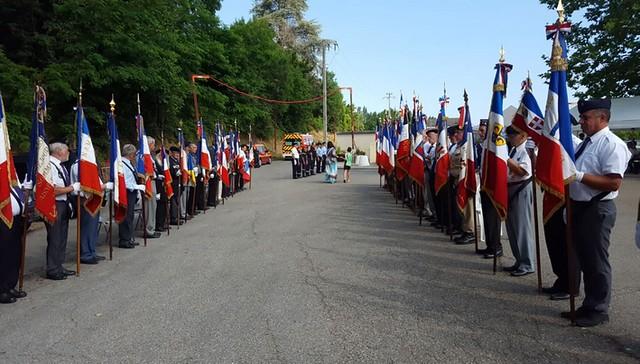 Commémoration 2019 de la tragédie du 8 juillet 1944