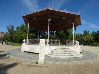 Parc de la Ciutadella, Barcelona - Bandstand of Sònia Rescalvo Zafra