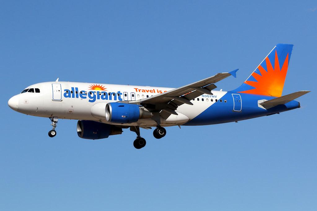 Allegiant Air | Airbus A319 | N307NV | Las Vegas McCarran