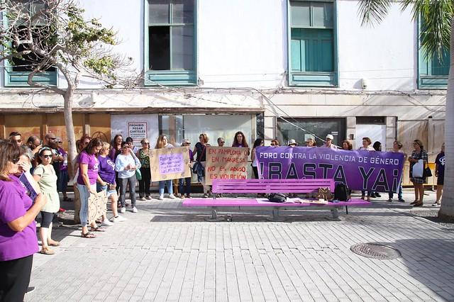 Concentración en apoyo Víctimas de Violación