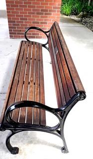 Vertical Bench Image for a Change ~ HBM