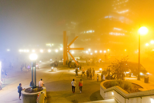 Crowd in a Cloud - Sprawling Fog