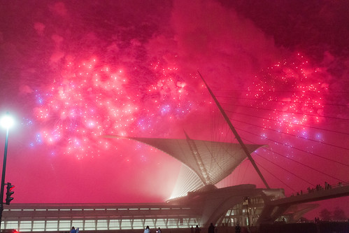 Red Sky 2 - Foggy Lakefront MAM Fireworks-14