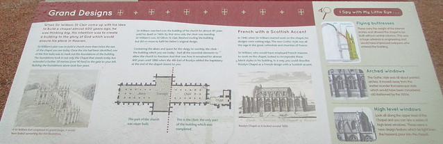 Rosslyn Chapel board