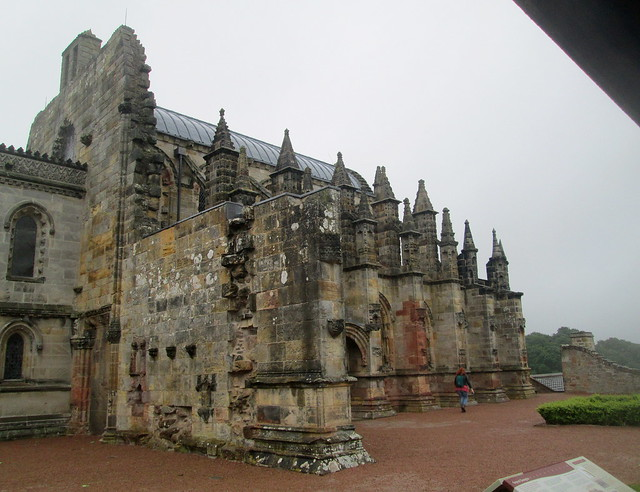 Rosslyn Chapel , Midlothian, Scotland