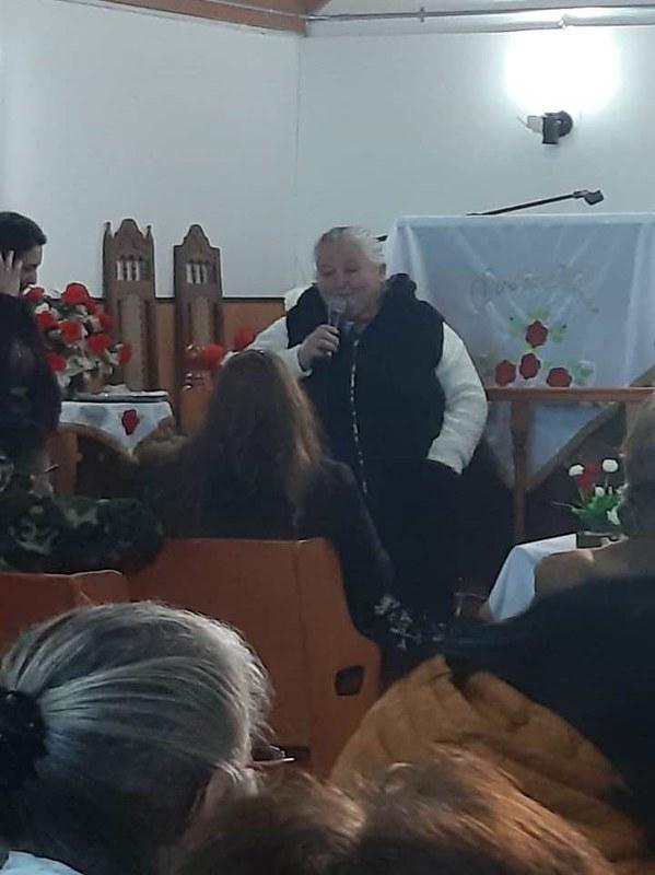 Clase de Dorcas general en Iglesia de Lirquén