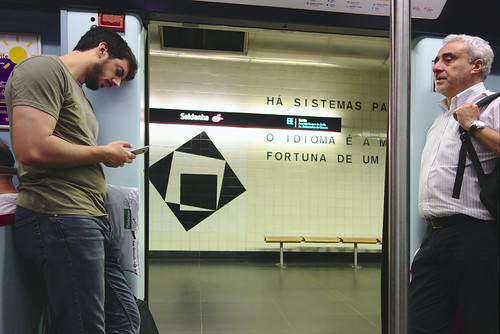 Red Line  #commute #subway #lisbon #portugal #street #sonyrx100 #t3mujinpack