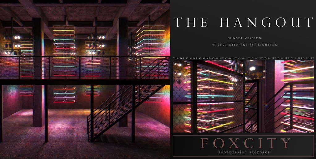 FOXCITY. Photo Booth – The Hangout (Sunset)