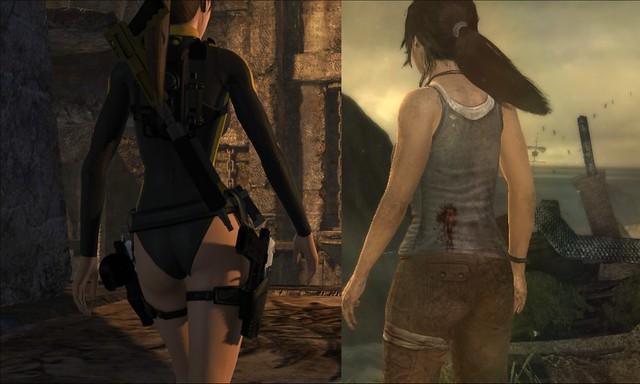 Tomb Raider vs Lara Croft