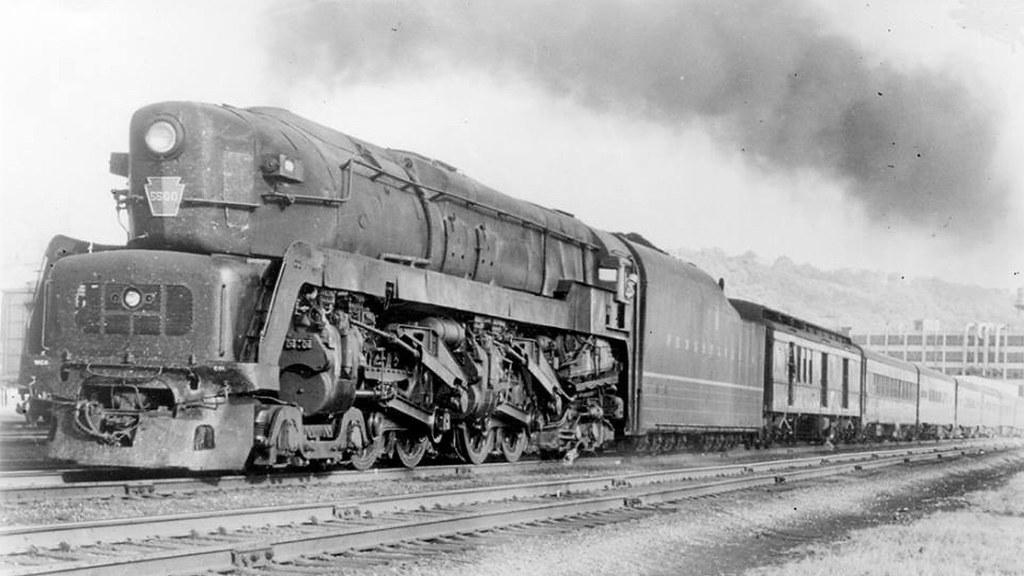 PRR 4-4-4-4 T-1 Steam Locomotive 25 | prrt1steamlocomotivetr