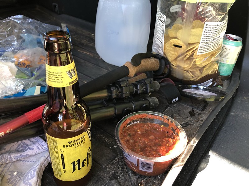 Post-hike snacks