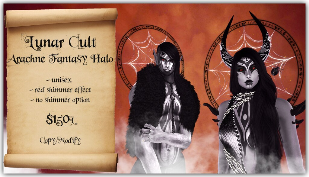 Lunar Cult – Arachne Fantasy Halo