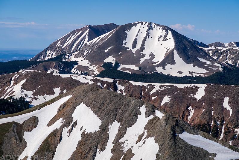 Mount Peale & Mount Mellenthin
