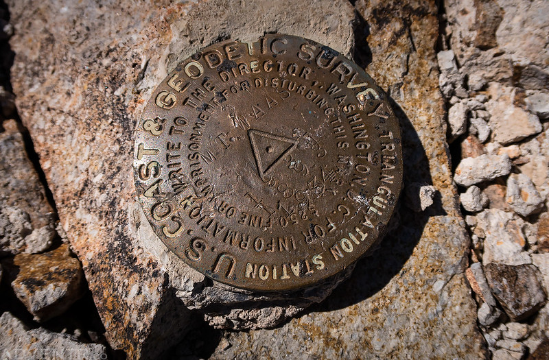 Mount Waas Benchmark