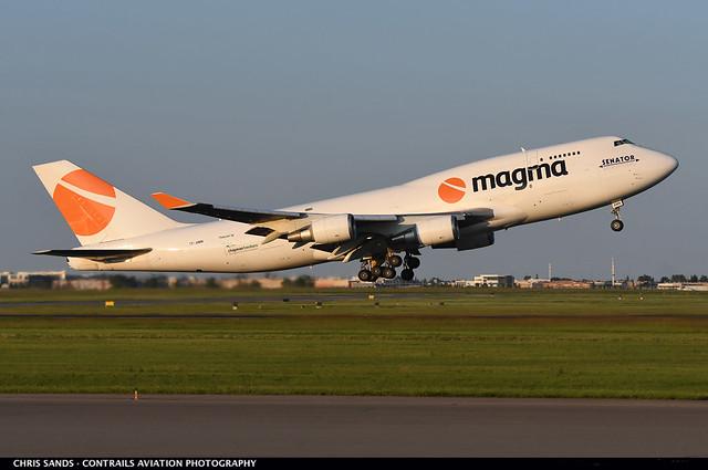 Magma (Air Atlanta Icelandic) B744F TFAMN