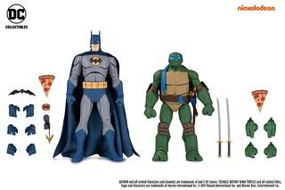 主要角色全到齊,令人大興奮的雙人包組合登場!! DC Collectibles《蝙蝠俠大戰忍者龜》多款角色雙人包【2019 SDCC 限定,GameStop 獨家發售】