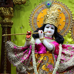 ISKCON Juhu Mangal Deity Darshan on 9th July 2019