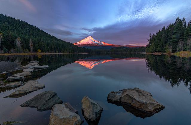 Mt Hood Sunset Glow