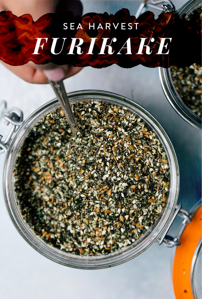 Sea Harvest Furikake (Raw, Vegan)