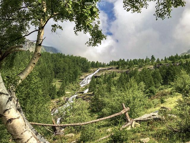 Cascata Inferiore del Paione - Alta Val Bognanco (Italy)