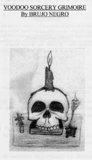 Voodoo Sorcery Grimoire - Brujo Negro