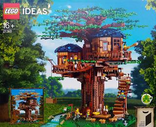 一起來蓋超美樹屋,還可以表現出季節變換! LEGO 21318 Ideas 系列【樹屋】Tree House 曝光~