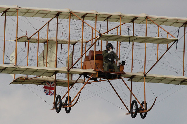 Bristol Boxkite (replica) - Military Airshow, Shuttleworth Collection, Old Warden, Sunday 7th July 2019