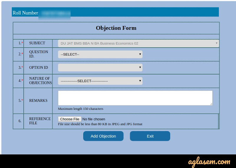 DUET 2020 Answer Key (Available) - Download and Challenge Keys for UG, PG Courses at du.ac.in