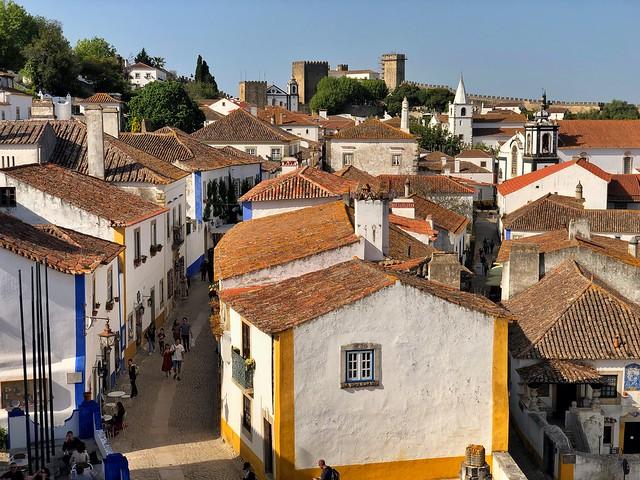 Óbidos, la villa templaria en el centro de Portugal