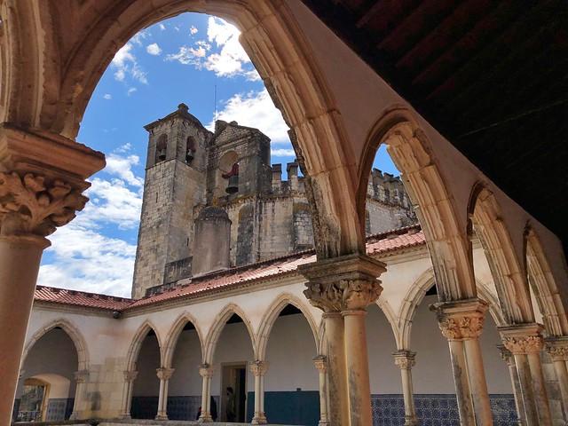Claustro del Convento de Cristo en Tomar (La Portugal de los templarios)